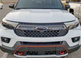 Ford Explorer Timberline lộ diện hoàn toàn, SUV hầm hố cho dân mê off-road