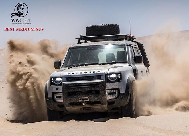 """Giải thưởng """"Xe Thế giới của năm 2021"""" do phái nữ bình chọn thuộc về Land Rover Defender - 8"""