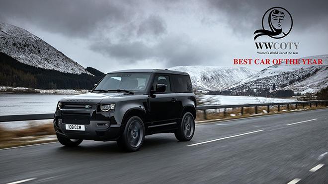 """Giải thưởng """"Xe Thế giới của năm 2021"""" do phái nữ bình chọn thuộc về Land Rover Defender - 1"""