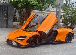 Siêu phầm McLaren 765LT thứ 4 đã có mặt tại Việt Nam