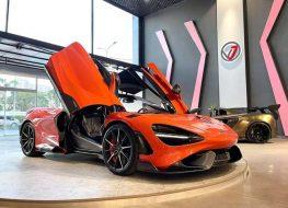Siêu xe đình đám McLaren 765LT thứ 3 về Việt Nam với tùy chọn đắt đỏ